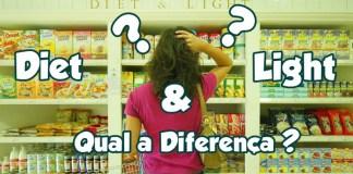 Diet e Light, Qual a diferença