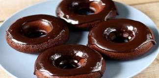 Receita de Dunuts de chocolate