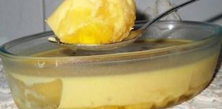 Receita de Gelado de Abacaxi
