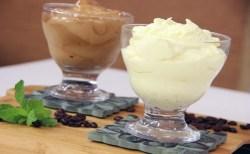Receita de Glacê de Leite Condensado e Creme de Capuccino