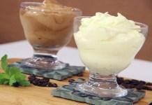 Glacê de Leite Condensado e Creme de Capuccino