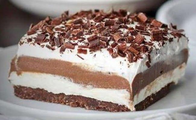 Lasanha de Chocolate Simples