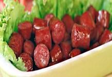 Receita de Linguiça Caramelizada na Sidra