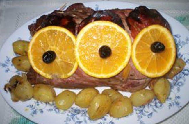 Lombo de Porco Recheado