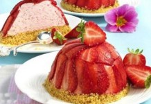 Mini Torta de Morango