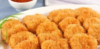 Receita de Nugget de Frango Caseiro