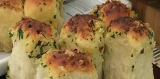 Pão de Bolinha de alho