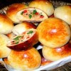 Receita de Pãozinho de batata com frango e catupiry