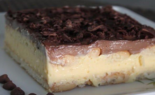 Receita de Pavê de Chocolate com Maracujá