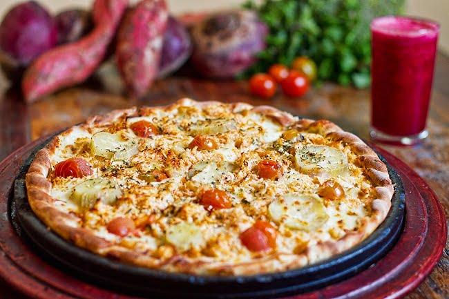 Receita de Pizza de Batata Doce 11 Receitas