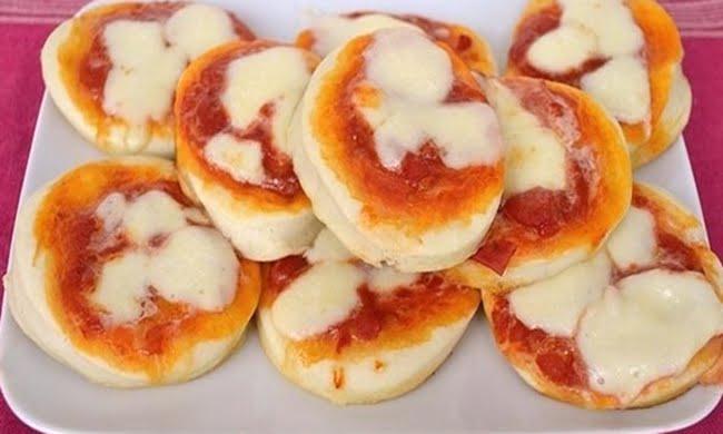 Receita de Pizzette com Mussarela