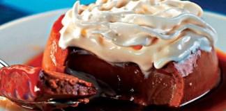 Receita de Pudim Cremoso de Chocolate