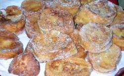 Receita de Rabanada com leite condensado e leite de coco