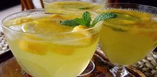 Receita de Refrigerante de Gengibre Caseiro (Ginger Ale)