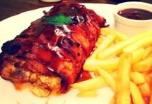 Receita de Rocambole de Carne de Porco com Bacon