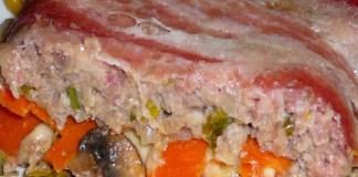 Receita de Rolo de Carne e Presunto
