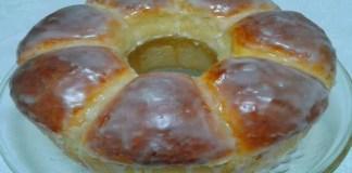 Receita de Rosca Doce