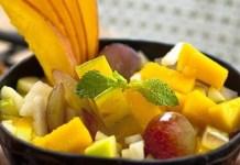 Receita de Salada Mango Thai
