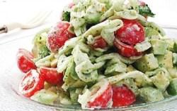 Receita de Salada de Abacate