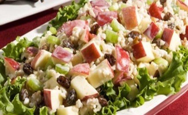 Receita de Salada de Tender