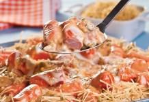 Receita de Salsichas Gratinadas