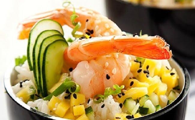 Receita de Sushi Salad
