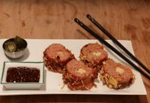 Receita de Sushi de Bacon