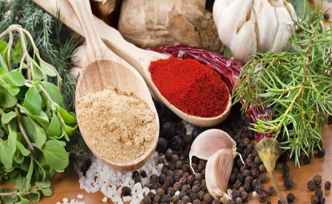 Temperos mais usados no preparo de peixes e frutos do mar