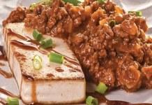 Receita de Tofu a Bolonhesa