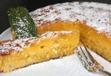 Receita de Torta Caprese al limone