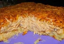 Receita de Torta de Batata com Cream Chees e Frango