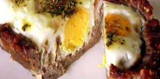 Receita de Torta de Carne Moída com Ovo