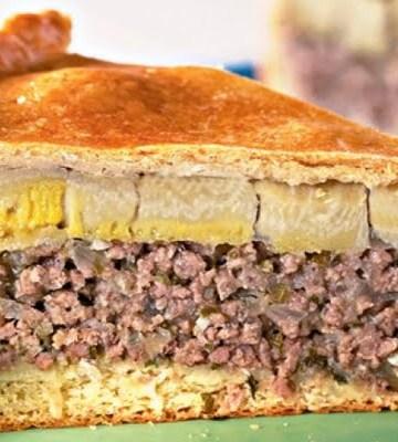 Receita de Torta de Carne Moída