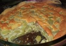 Receita de Torta de Chuchu de Forno