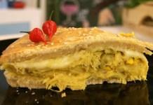 Receita de Torta de Frango e Curry