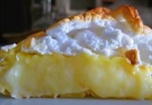 Receita de Torta de Leite Creme com Merengue