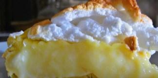 Torta de Leite Creme com Merengue