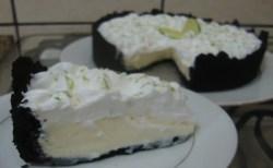 Receita de Torta de Limão com Biscoito Negresco