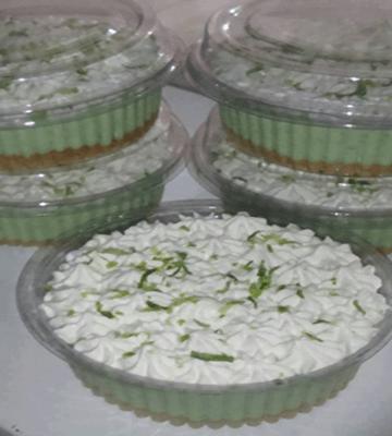 Receita de Torta de Limão de Potinho