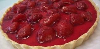 Receita de Torta de Morango com Iogurte