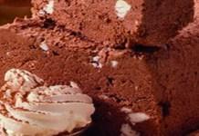 Receita de Torta de Suspiro com Chocolate