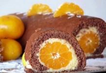 Receita de Torta de Tangerina