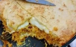 Torta de Frango com Requeijão de Liquidificador