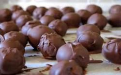 Receita de Trufas de chocolate no Microondas