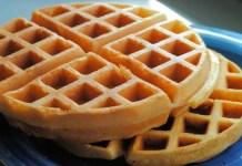 Receita de Waffle Americano