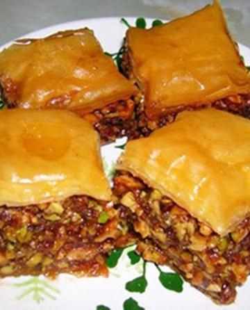Receita de BaKlava Pastel Arabe