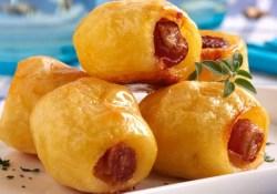 Receita de Batata Assada com Bacon