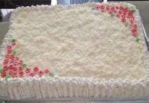 Receita de bolo de Abacaxi para festa