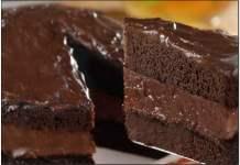 Receita de Bolo de Chocolate Aerado