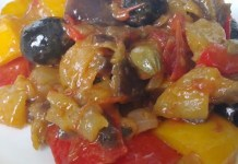 Receita de Caponata Light